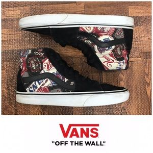 "Vans High Top ""Off the Wall"" Sneakers"